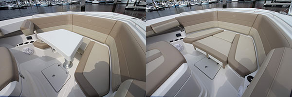 Convertable Bow Seating