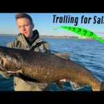 How to Troll for GIANT Early Fall King Salmon and Coho! (PB Caught!)