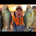 HUGE Fall Crappies! The Great Lakes Tour: Episode 5